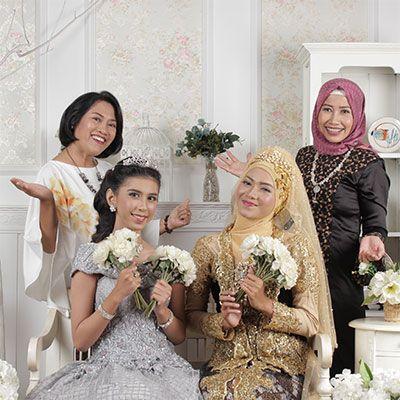 Kursus Bridal & Hijab Wedding