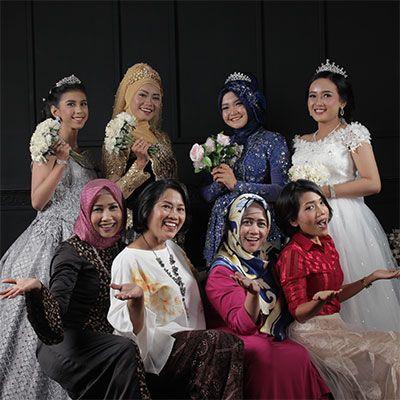 Kursus Bridan & Hijab Wedding