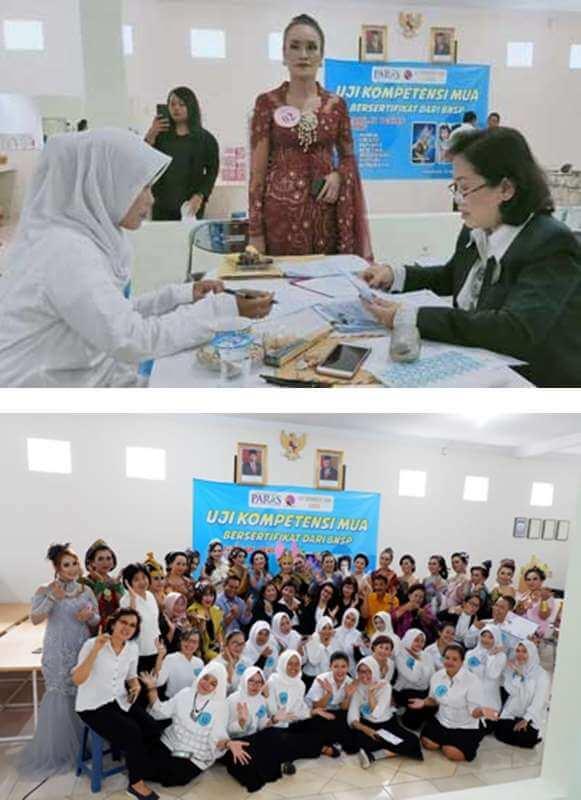 Uji Kompetensi MUA 2019 BNSP di Yogyakarta